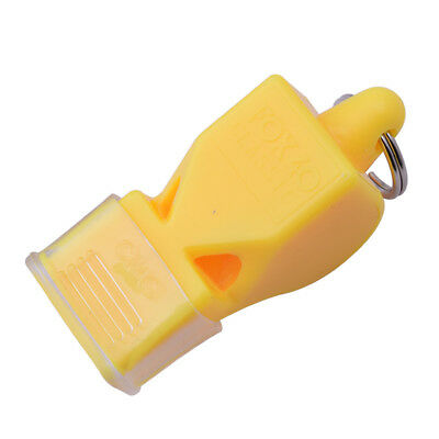 Plastic Whistle Soccer Basketball FOX 40 Sports Referee Whistle Survival Outdoor