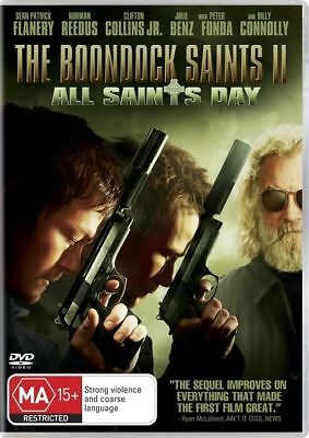 Y1 BRAND NEW SEALED The Boondock Saints II - All Saints Day (DVD, 2010)
