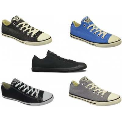 Converse CT Lean Ox Canvas Unisex Trainers in Various Colours and Sizes