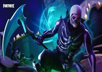 Fortnite Gaming Ps4 Xbox Large Posters Wall Art Picture Print Size A1