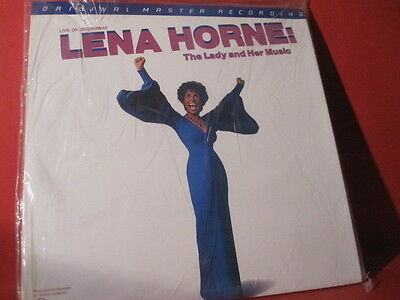 """Mfsl 2-094 Lena Horne""""the Lady And Her Music""""(Japanpressing-Series/do-Lp/sealed)"""