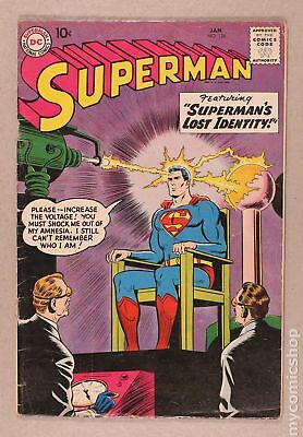 Superman (1st Series) #126 1959 GD/VG 3.0