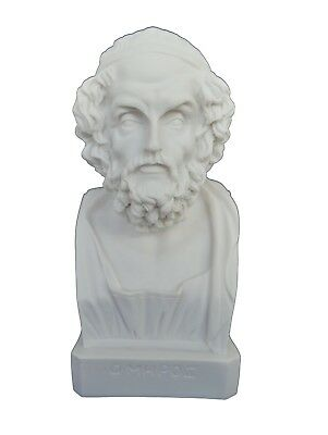Homer statue bust ancient Greek legendary author of Iliad and the Odyssey