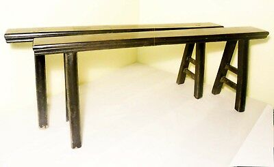 Antique Chinese Ming Bench (Pair)(2856), Circa 1800-1849