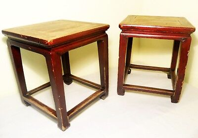 Antique Chinese Ming Benches/End Tables (2818), Circa 1800-1849