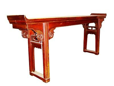 Authentic Antique Altar Table (3012), Korean Zelkova, Circa 1800-1849