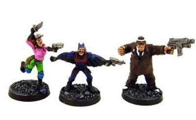 Mongoose Gangs of Mega-City One Specialists I Pack MINT