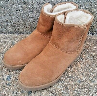 742a4a5a664 UGG AUSTRALIA WOMEN'S Cory Winter Boot Boots Suede Chestnut 1013437 ...