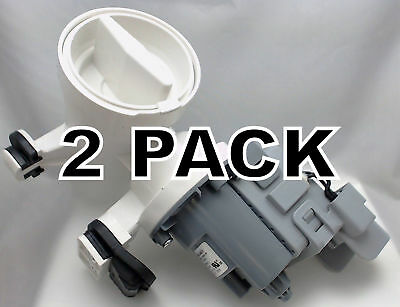 2 Pk, Washer Motor & Pump for Whirlpool, Sears, AP6023956, WPW10730972
