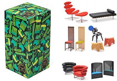 Dollhouse Miniature Interior Designer Chair Collection Vol.6 Full set of