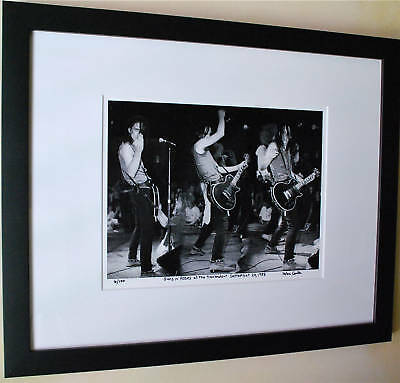 Guns N' Roses live Izzy Stradlin 1985 Troubadour fine art photo signed 13/100