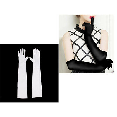2 Pair Set 1920s Opera Long Gloves Elbow Length Wedding Evening Party Gloves