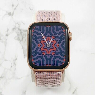 Apple Watch Series 4 40 mm Gold Aluminum with Pink Sand Sport Loop (GPS)
