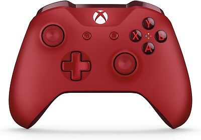 Microsoft Xbox One Wireless Controller Genuine (Red) - NEW OPEN