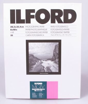 Ilford MG4R25M MG RC Deluxe Paper Satin 25 Sheets 8x10