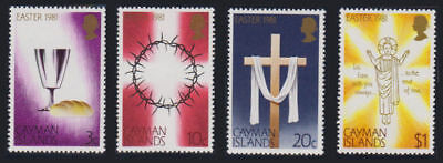 Cayman Is. - 1981 Easter Set. Sc. #463-6, SG #526-9. Mint NH