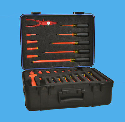 Cementex Insulated Electrical Tool Set Of 31 pieces, 1000V rated