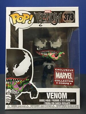 Funko Pop Leaping Venom Marvel Collector Corps Exclusive # 373