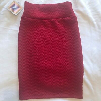 f789163e0 NWT!! LULAROE CASSIE Pencil Skirt -Coral Textured Pattern -XS ...