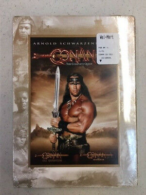 Conan: Complete Quest (DVD, 2008, New/Sealed) Arnold Schwarzenegger