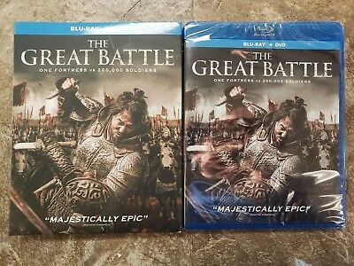 The Great Battle (Blu-Ray + DVD, 2018) *Brand NEW w/ Slipcover*