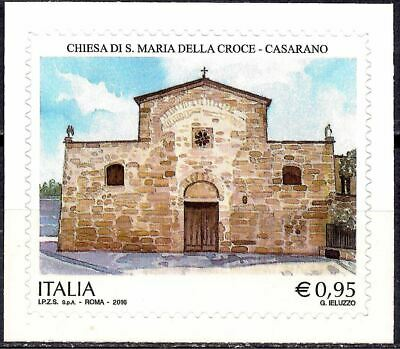 Italy 2016 Ancient Church/St. Mary of the Cross/Building Byzantine Frescoes MNH
