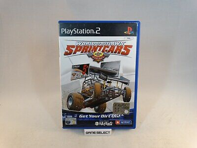 World Of Outlaws Sprint Cars Sprintcars Sony Ps2 Pal Eur Ita Italiano Completo
