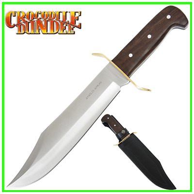 Crocodile Dundee a traditionally hand finished DELUXE DUNDEE BOWIE KNIFE