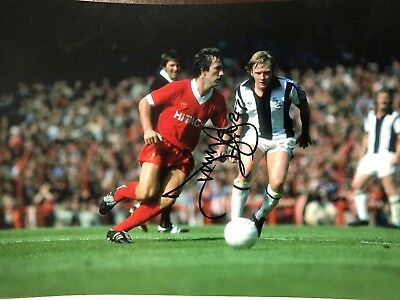 Jimmy Case signed 12x8 Photograph.  Former Liverpool Footballer