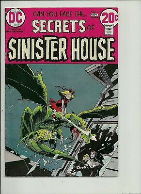 Secrets Of Sinister House #7 1972 Dc Comics  Bronze Age Horror Solid Vg+