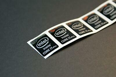 I7 Vpro Intel Core i7 inside Sticker 16x21mm 2011 Version Sandy Bridge