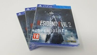 NEW Resident Evil 2 Remake Lenticular Edition (for PS4) EU Exclusive SEALED!