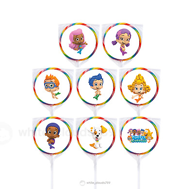 """24 Dragon Ball Super 1.67/"""" Sticker Labels for Bag Birthday Party Favor"""