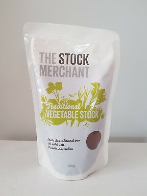 The Stock Merchant Traditional Vegetable Stock 500g