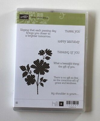 Stampin Up Gifts of Kindness Stamp Set RETIRED