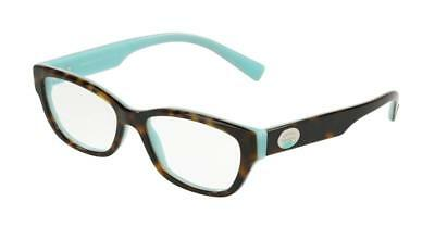827a125189c TIFFANY   CO TF 2172 Color Splash 8134 Havana   Blue Eyeglasses 52mm ...