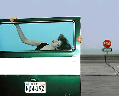 "TEXAS ROADSIDE By Guy Bourdin  ONE -16x20"" Replica Charles Jourdan Poster Print"