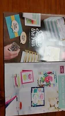 Stampin Up Catalogues 2015-2016 + 2017-2018