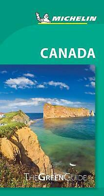 Canada - Michelin Green Guide: The Green Guide Paperback Book Free Shipping!
