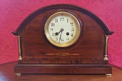 Antique French Japy Freres 8-Day Striking Mantel Clock, 19th Century