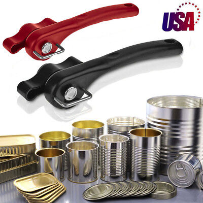 Multifunction Stainless Steel Safety Side Cut Manual Can Tin Bottle Opener USA