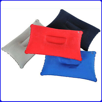 Travel Outdoor Inflatable Air Pillow Comfortable Cushion Protect Head Neck