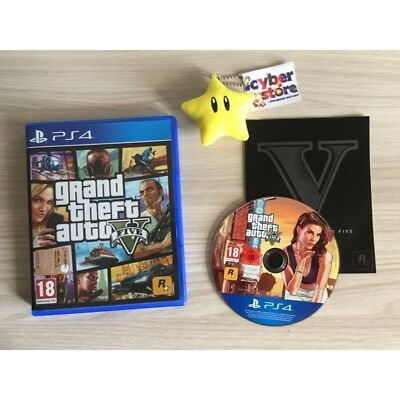 GTA 5 GRAND THEFT AUTO V per Sony Playstation 4 PS4 Usato Garantito italiano