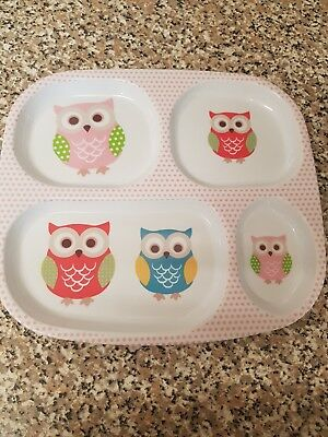 Child Owl Plate & Cup Set