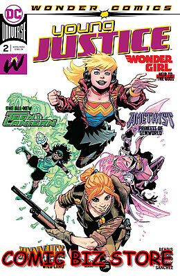 Young Justice #2 (2019) 1St Print Gleason Main Cover Bagged & Boarded Dc Comics