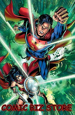 Justice League #17 (2019) 1St Printing Will Conrad Variant Cover Dc Universe