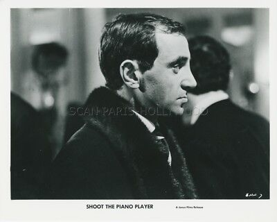 CHARLES AZNAVOUR TIREZ Sur Le Pianiste 1960 Photo Original #5 ...