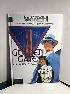 Bd Largo Winch N°11 Golden Gate - E.O.12/2000 - TTBE