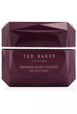 Brand New: Ted Baker Opulent Petal Shimmer Body Soufflé 300ml - FREEPOST