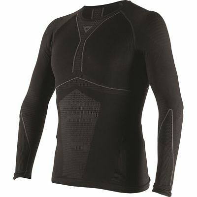 Dainese D-Core Dry Mens Long Sleeve Base Layer Shirt Black/Anthracite